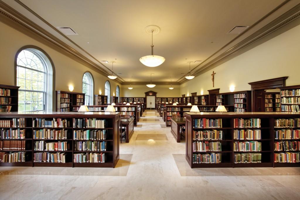 Iona College, Ryan Library, NY