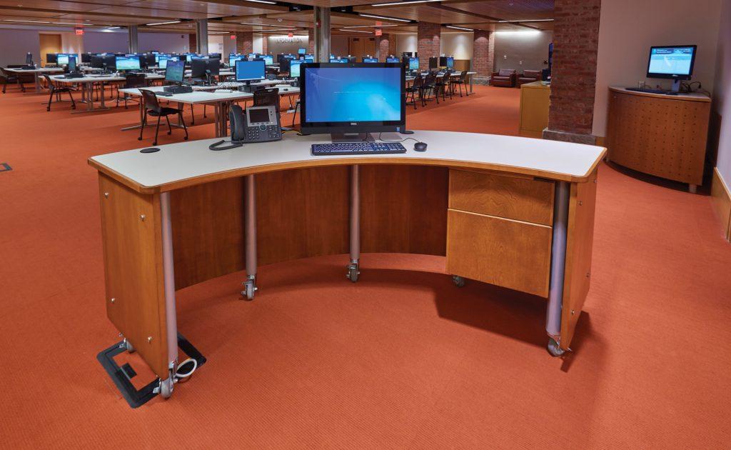 Slover Library - Signup Desks